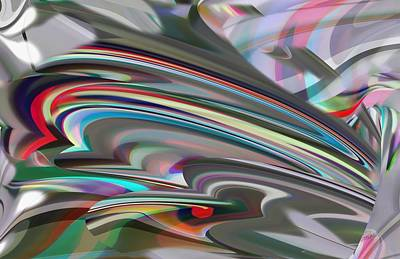 Digital Art - Emergence In Color by rd Erickson