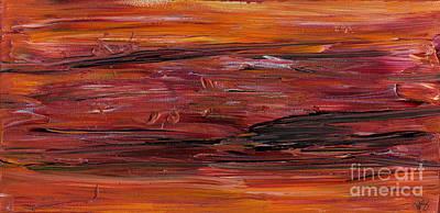 Chakra Painting - Emergence by Julia Stubbe