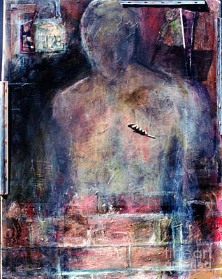 Violence Mixed Media - Emergence by Marcy  Orendorff