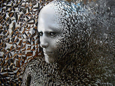 Self Mixed Media - Emergence by Michael Durst