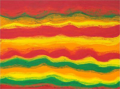 Emergence No. 1 Art Print by Elizabeth Dawson