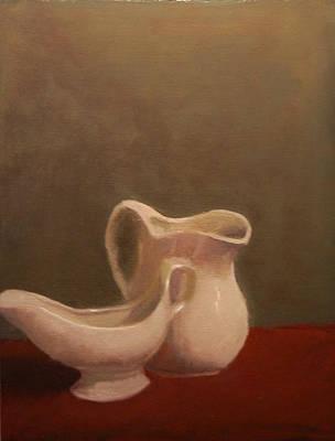 Emergence Of Ceramic Art Print by Krishnamurthy S