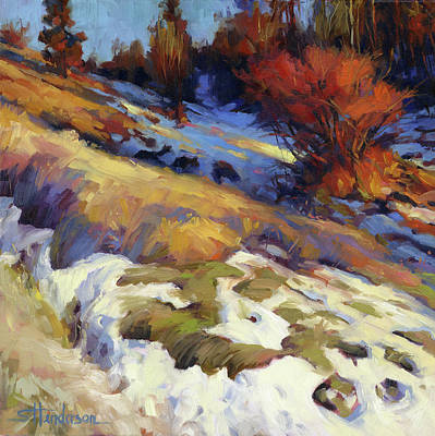 Abstract Landscape Painting - Emergence by Steve Henderson