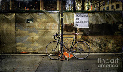 Photograph - Emergency Bicycle by Craig J Satterlee