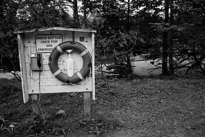 Stephen White Photograph - Emergency by Stephen White