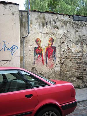 Vilnius Photograph - Emergent by Mary Lee Dereske