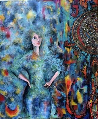 Painting - Emerging Artist by Rae Chichilnitsky