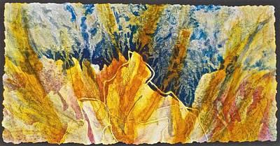 Painting - Emerging by Carolyn Rosenberger