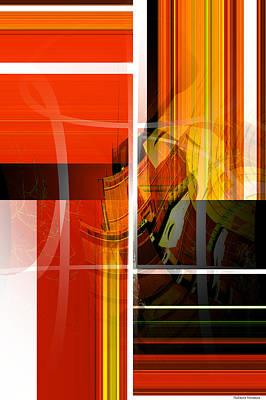 Painter Mixed Media - Emerging Concrete Life by Thibault Toussaint