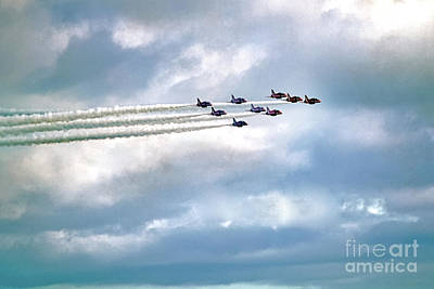 Photograph - Emerging From The Smoke Trail by Terri Waters