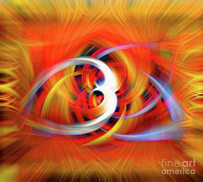 Photograph - Emerging Light From A Colorful Vortex by Sue Melvin
