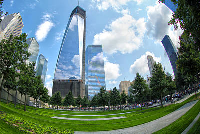 1 Wtc Photograph - Emerging Stronger by Mitch Cat