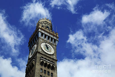 Photograph - Emerson Bromo-seltzer Tower Skyscape Baltimore by James Brunker