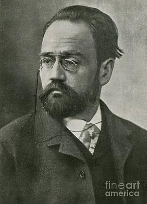Emile Zola, French Author Art Print
