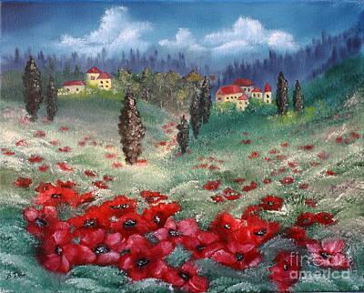 Painting - Emilia Romagna by Barbara Teller