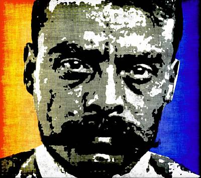 Emiliano Zapata  Art Print by Otis Porritt