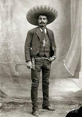 Photograph - Emiliano Zapata by Roberto Prusso