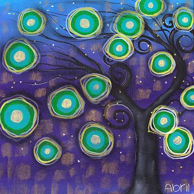 Fantasy Tree Art Painting - Emilio Tree by  Abril Andrade Griffith