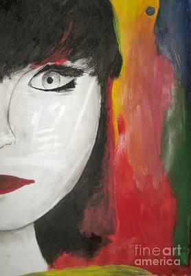 Painting - Emilio's Asia Girl by Anastasis  Anastasi