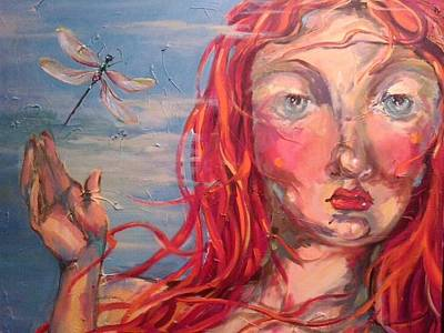 Painting - Emily 2 by Heather Roddy
