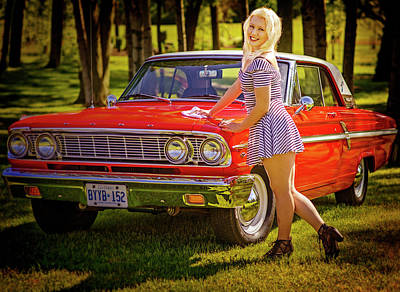 Photograph - Emily #6 Royal Holden by Jerry Golab