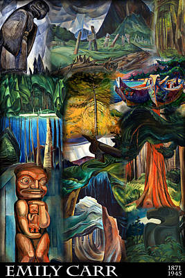 Of Painter Photograph - Emily Carr by Andrew Fare