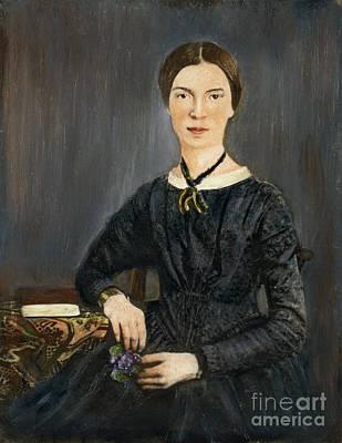 Photograph - Emily Dickinson by Granger