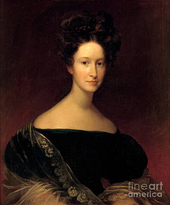 Emily Donelson, First Lady Art Print