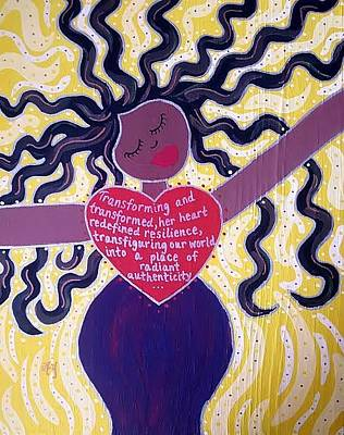 Painting - Emily Transgender Day Of Remembrance by Angela Yarber