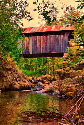 Photograph - Emily's Covered Bridge by Jeff Folger