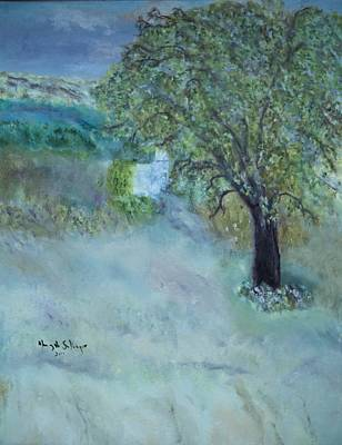 Painting - Emily's Tree by Aleezah Selinger