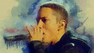 Eminem Art Print