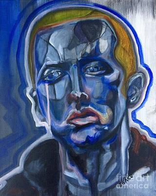 Slim Shady Painting - Eminem  by James Egaku
