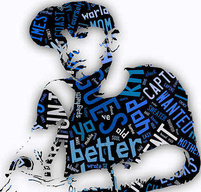 Eminem Lose Yourself Art Print