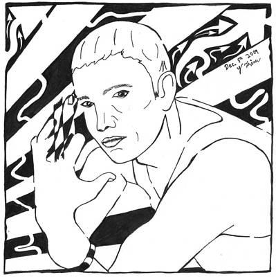 Eminemaze Art Print by Yonatan Frimer Maze Artist