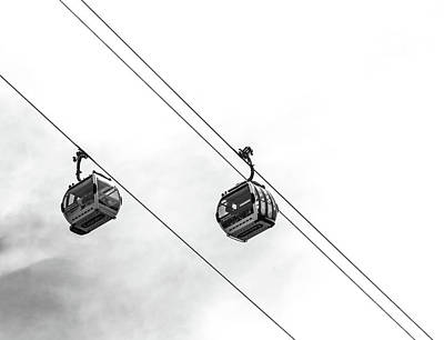 Greenwich Photograph - Emirates Airline by Martin Newman