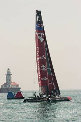 Photograph - Emirates Team New Zealand by David Bearden