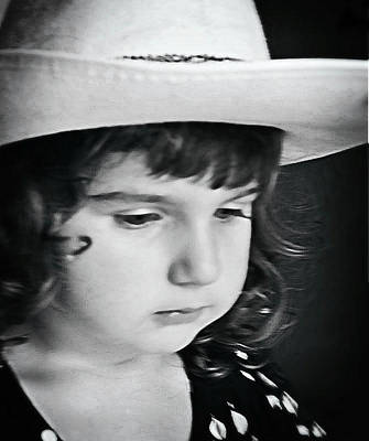 Photograph - Emma Black And White by Rena Trepanier