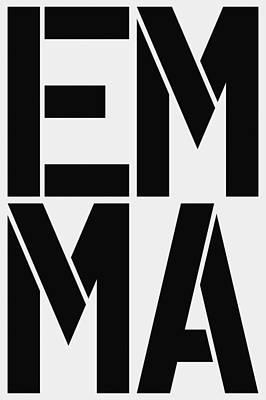 Emma Painting - Emma by Three Dots