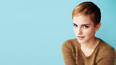 Digital Art - Emma Watson by Maye Loeser