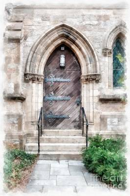 Boston Ma Photograph - Emmanuel Church Newbury Street Boston Ma by Edward Fielding