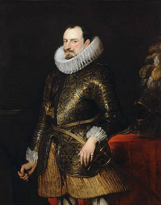 Painting - Emmanuel Philibert Of Savoy, Prince Of Oneglia by Anthony van Dyck