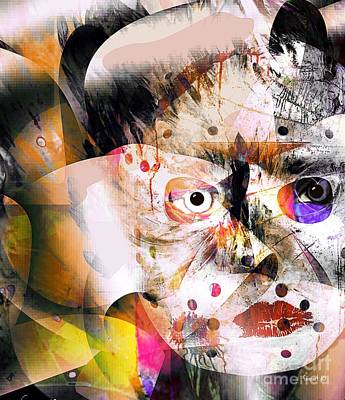 Yesayah Mixed Media - Emmerging Into Myself by Fania Simon