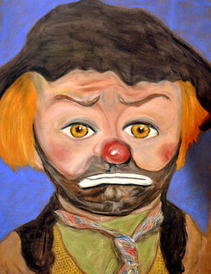 Pastel - The Clown  by Antonia Citrino