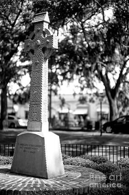 Photograph - Emmet Park Celtic Cross by John Rizzuto