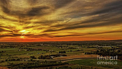 Photograph - Emmett Valley Sunset by Robert Bales