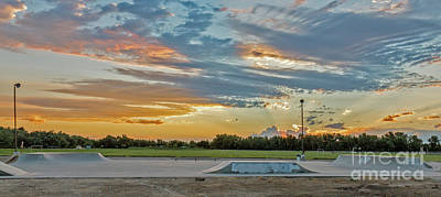 Photograph - Emmett Skatepark by Robert Bales