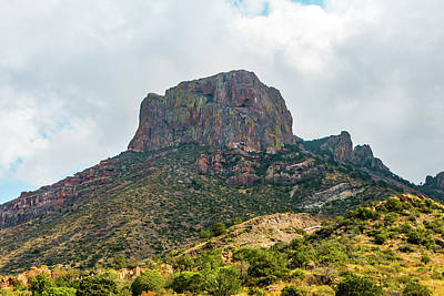 Photograph - Emory Peak Chisos Mountains by SR Green