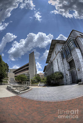 Photograph - Emory University Rollins School Of Public Health by David Bearden