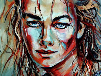 Painting - Emotion D by Kovacs Anna Brigitta